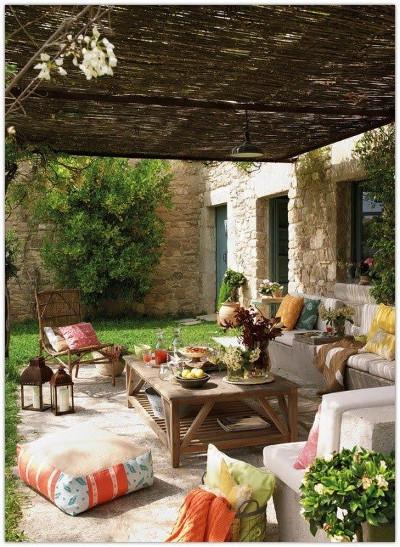 Pokój zewnętrzny - letni pokój łączący dom z ogrodem